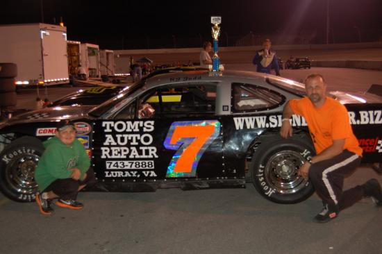 3rd Place Street Stock Race 2